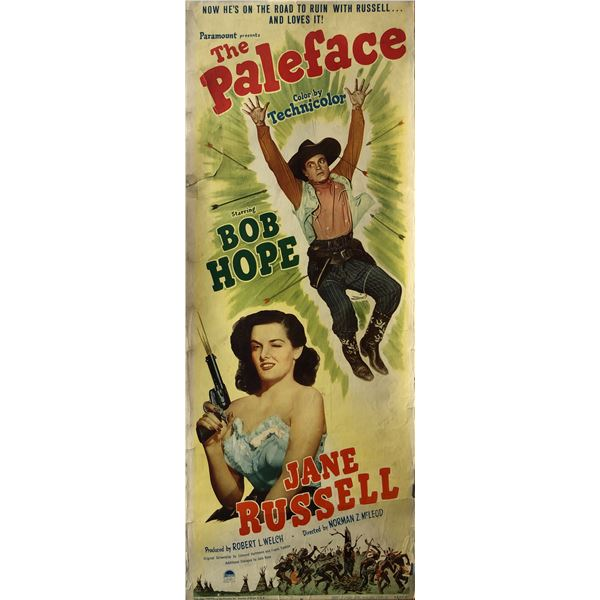 The Paleface insert card