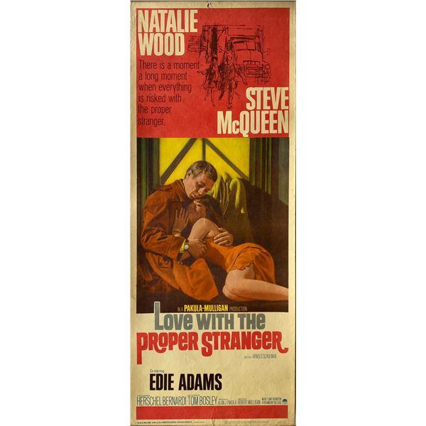 Love With the Proper Stranger 1964 original vintage insert card