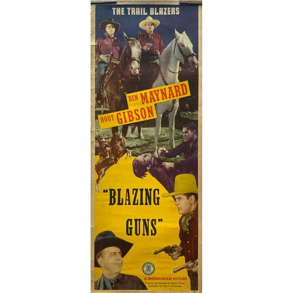 Blazing Guns insert card