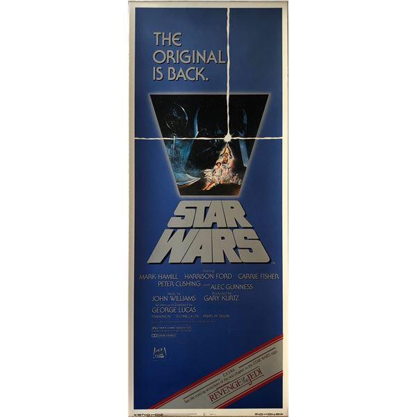 Star Wars Revenge of the Jedi insert card.- RARE