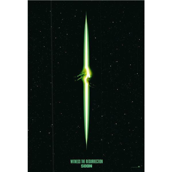 Alien Resurrection 1997 original one sheet poster