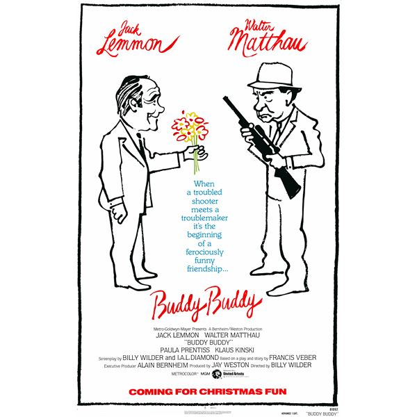 Buddy Buddy 1981 original vintage one sheet poster