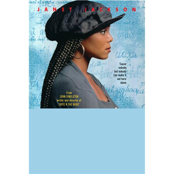 Poetic Justice 1993 original one sheet poster