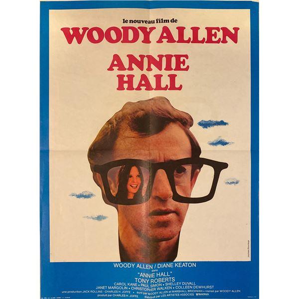 Annie Hall 1977 original vintage french one sheet