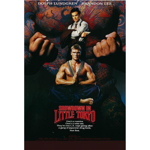 Showdown in Little Tokyo 1991 original one sheet poster