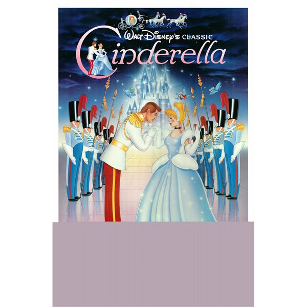 Cinderella 1987 original vintage one sheet poster