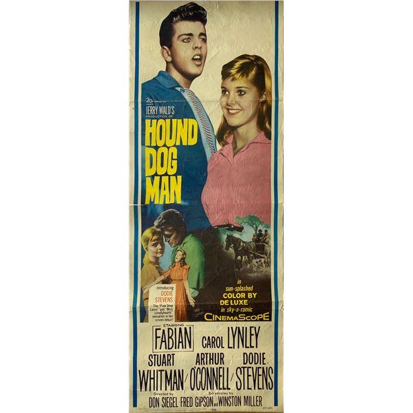 Hound Dog Man 1959 original vintage insert card