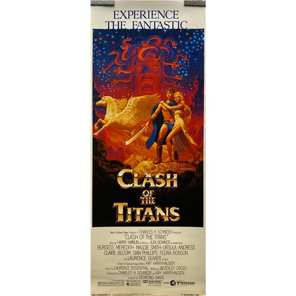 Clash of the Titans insert card