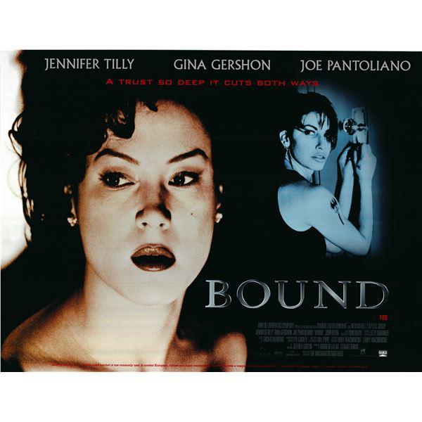 Bound 1996 original quad poster