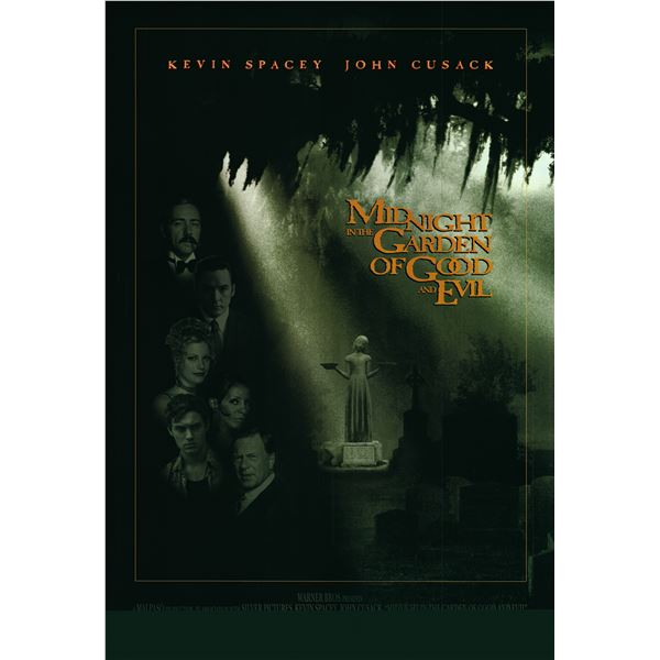Midnight in the Garden of Good and Evil 1997 original one sheet poster