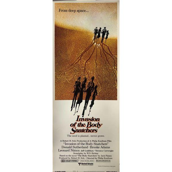 1978 Invasion of the Body Snatchers original insert card