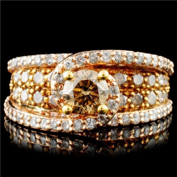 14K Gold 2.20ctw Diamond Ring