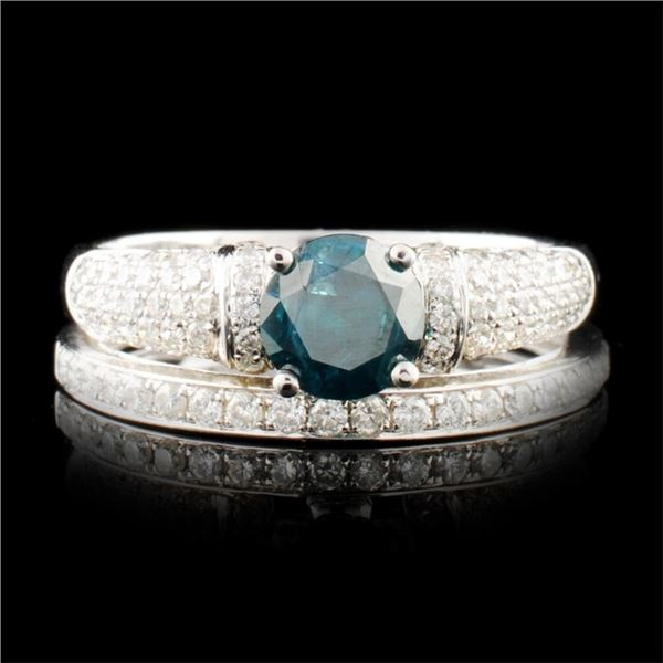 18K Gold 1.32ctw Diamond Ring