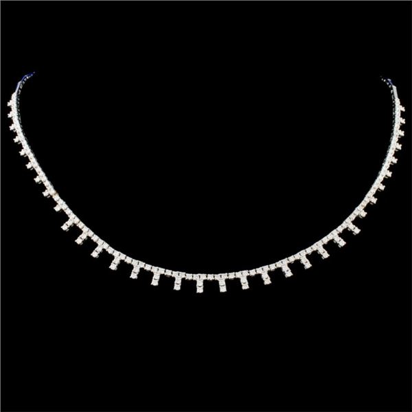 14K Gold 2.58ctw Diamond Necklace