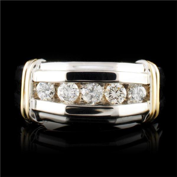 14K Gold 0.46ctw Diamond Ring