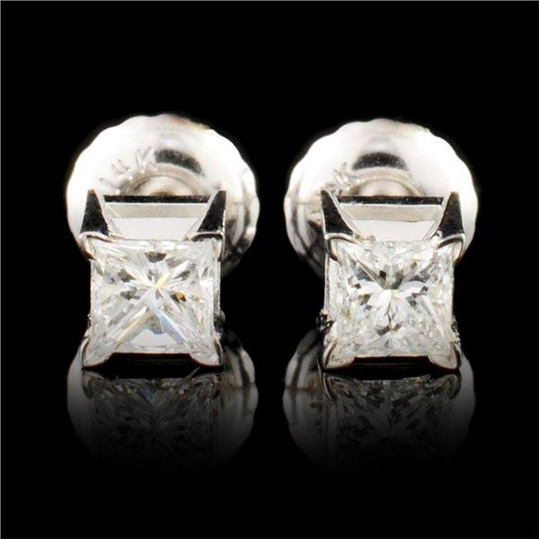 14K Gold 0.35ctw Diamond Earrings