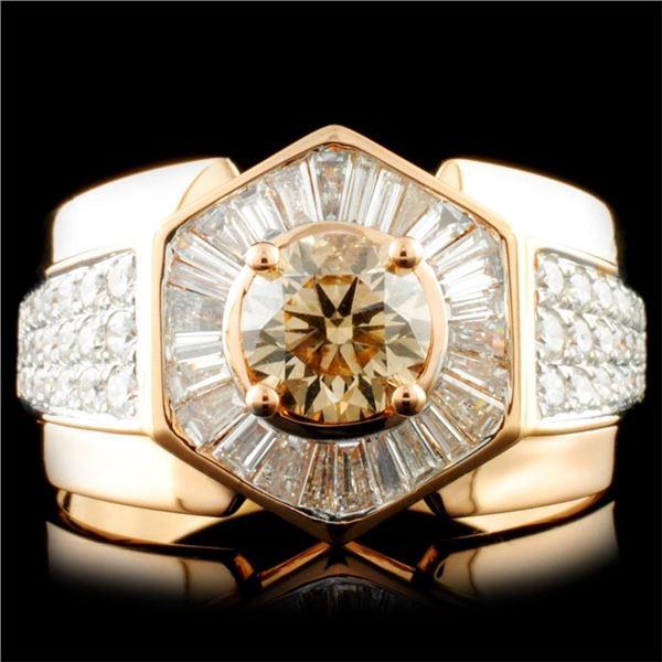 18k Gold 2.22ctw Diamond Ring