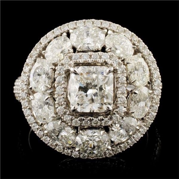 18K Gold 3.60ctw Diamond Ring