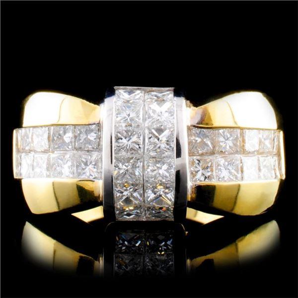 18K Gold 2.05ctw Diamond Ring
