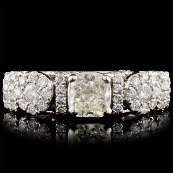 18K Gold 1.91ctw Diamond Ring