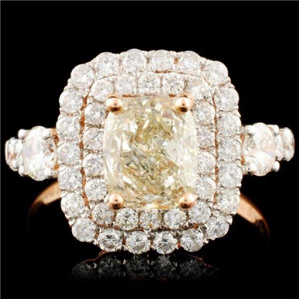 18K Gold 2.11ctw Diamond Ring