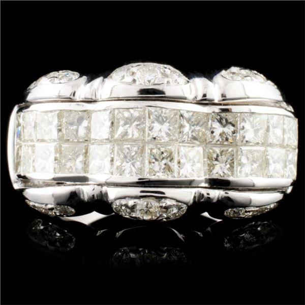 18K Gold 2.35ctw Diamond Ring