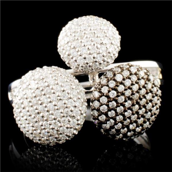 18K Gold 1.25ctw Diamond Ring