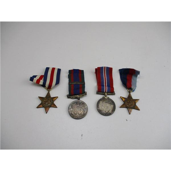 WWII CANADIAN MEDAL LOT
