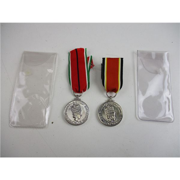 PAPUA NEW GUINEA ANNIVERSARY MEDALS