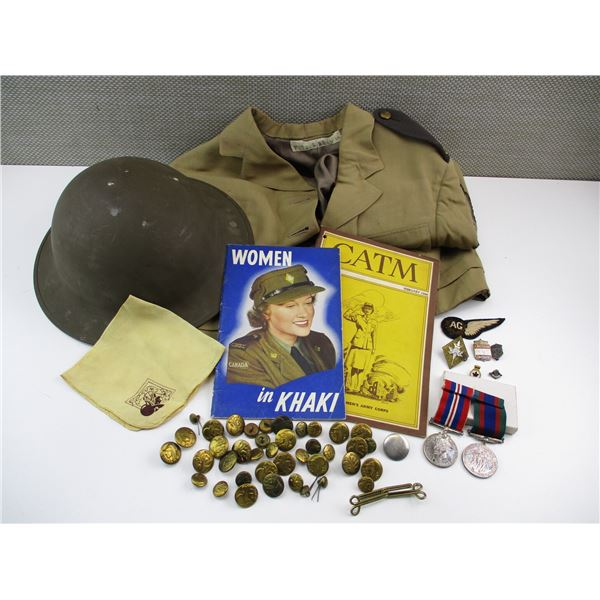 ASSORTED CANADIAN MILITARY LOT
