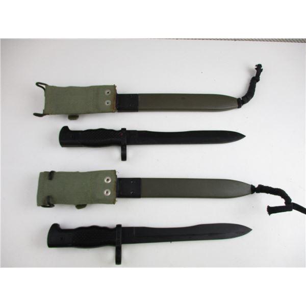"SPANISH M1964 MODEL ""C"" BAYONET LOT"