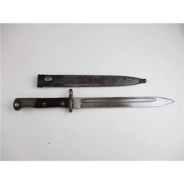 CHILEAN M1895 RIFLE BAYONET