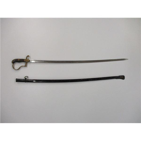 WWII GERMAN TYPE SWORD