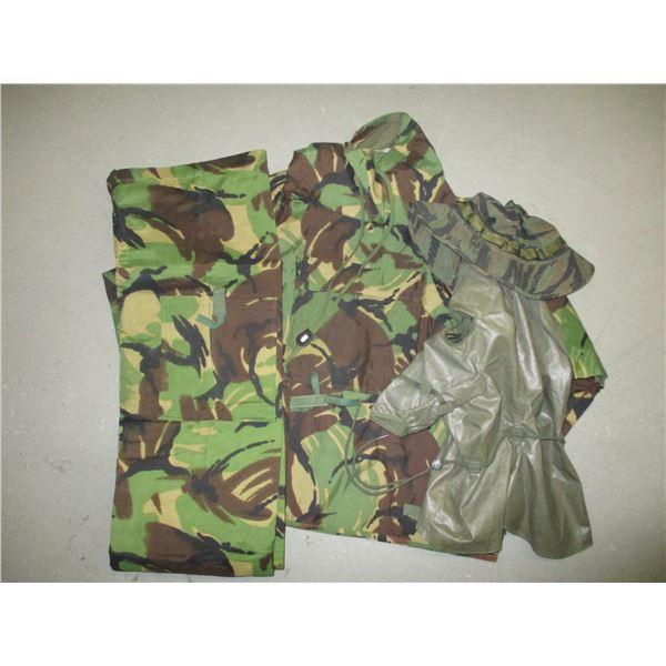 ASSORTED MILITARY CLOTHING