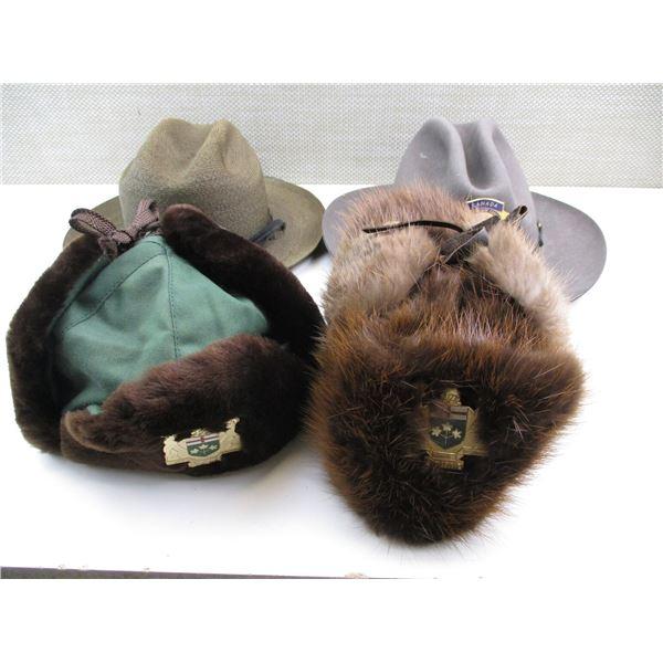 ASSORTED WILDLIFE SERVICE HATS