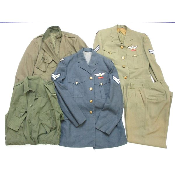 CANADIAN MILITARY CLOTHING LOT
