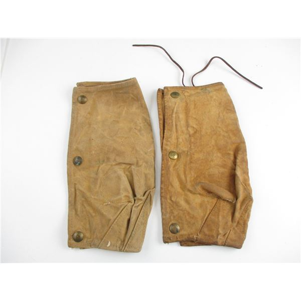 WWII CANADIAN LEE ENFIELD BREECH COVERS