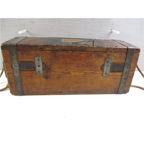 CANADIAN 577 SNIDER AMMO CRATE