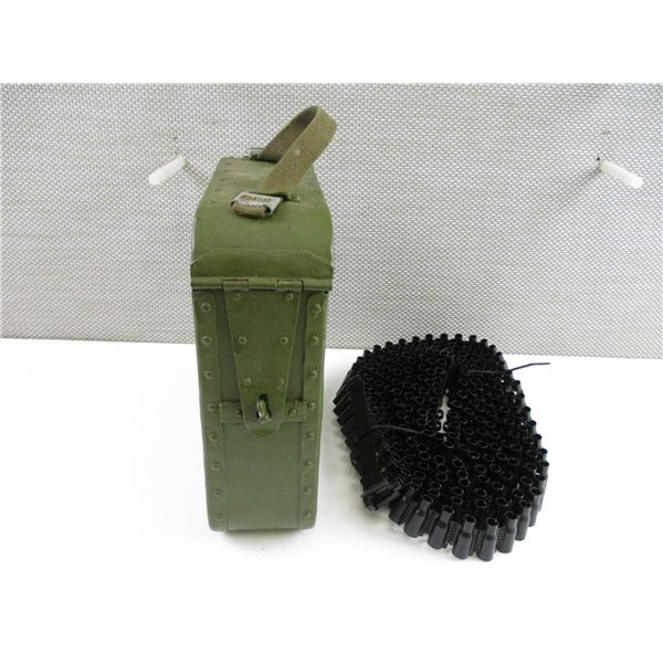 RUSSIAN MAXIM AMMO CAN AND MG BELT