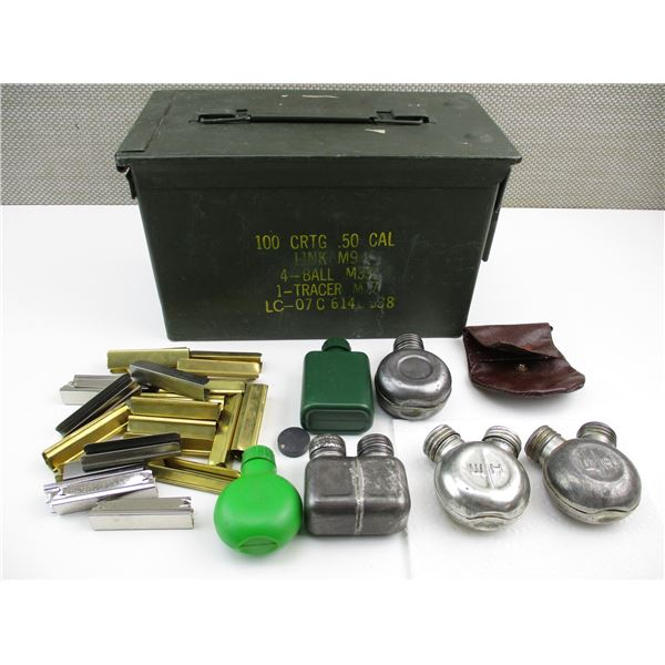 RUSSIAN STRIPPER CLIPS/OILERS AND AMMO CAN LOT