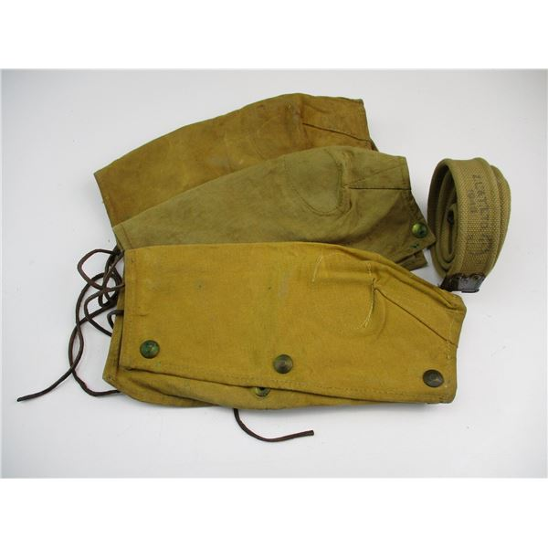 WWII SLING + CANADIAN ACTION COVERS