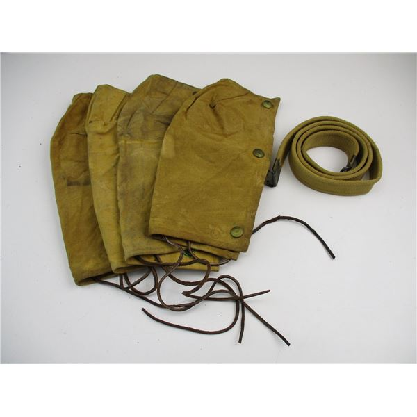 WWII CANADIAN SLING + ACTION COVERS