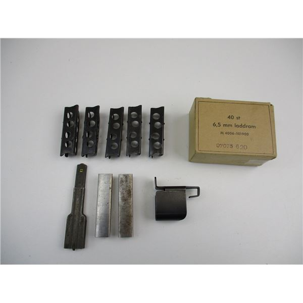 SWEDISH MAUSER + OTHER STRIPPER CLIPS