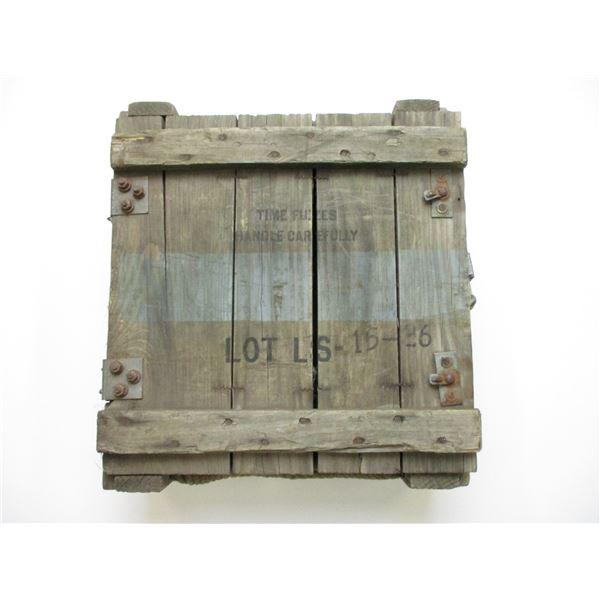 WOODEN GRENADE BOX