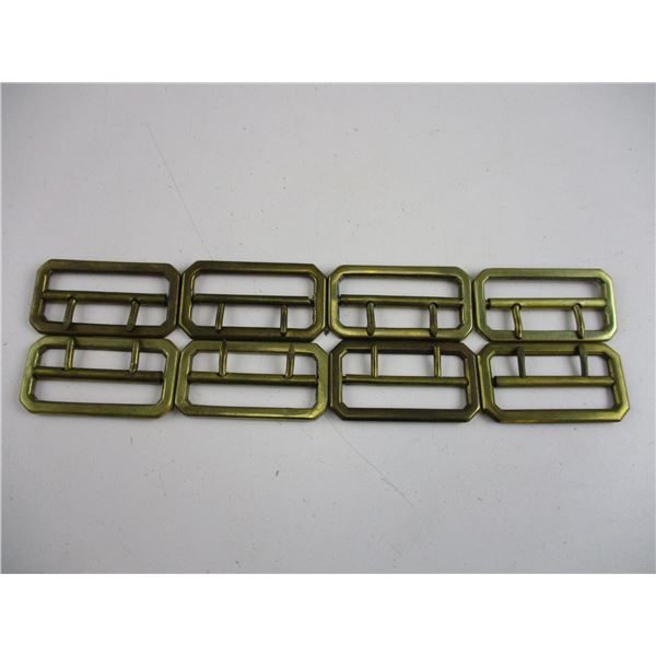MILITARY BRASS BUCKLES