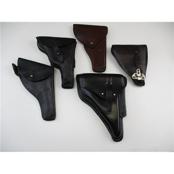 ASSORTED HOLSTER LOT