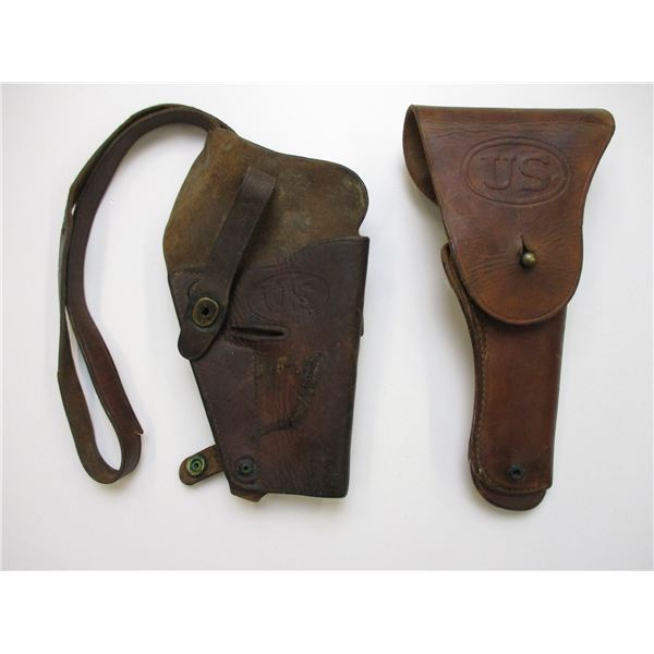 WWII US HOLSTER LOT