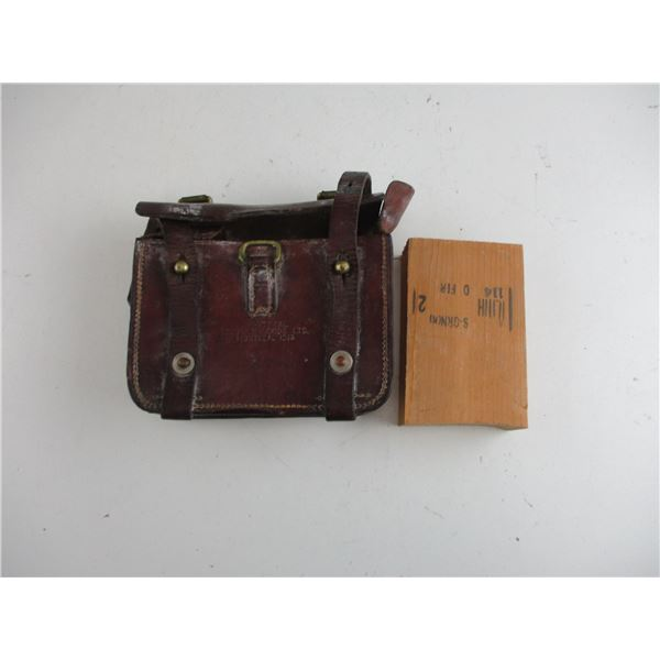 WWI CANADIAN OLIVER PATTERN AMMO POUCH