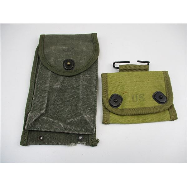 U.S. MILITARY POUCH LOT