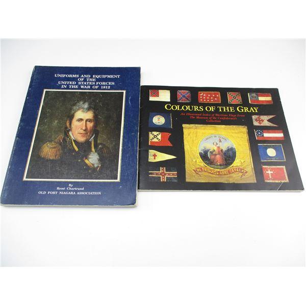 ASSORTED UNIFORM/FLAG BOOKS